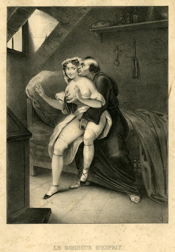 Эротические рисунки прошлого века 11